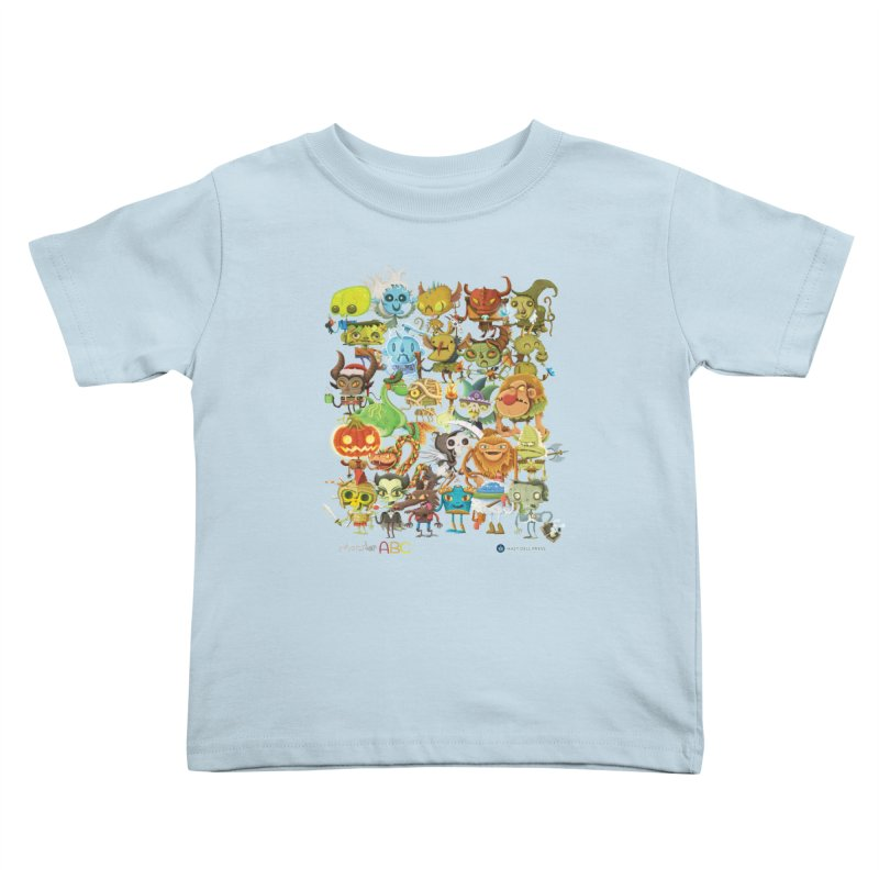 Monster ABC Kids Toddler T-Shirt by Hazy Dell Press