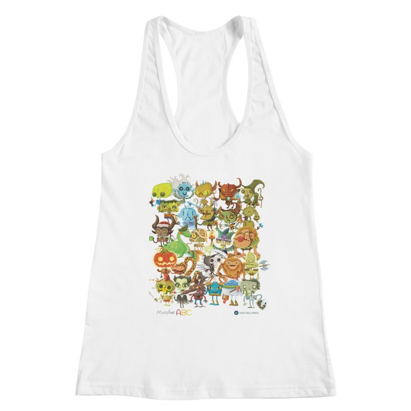 Monster ABC Women's Tank by Hazy Dell Press