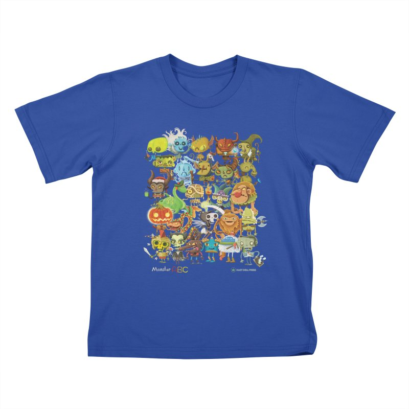 Monster ABC Kids T-Shirt by Hazy Dell Press