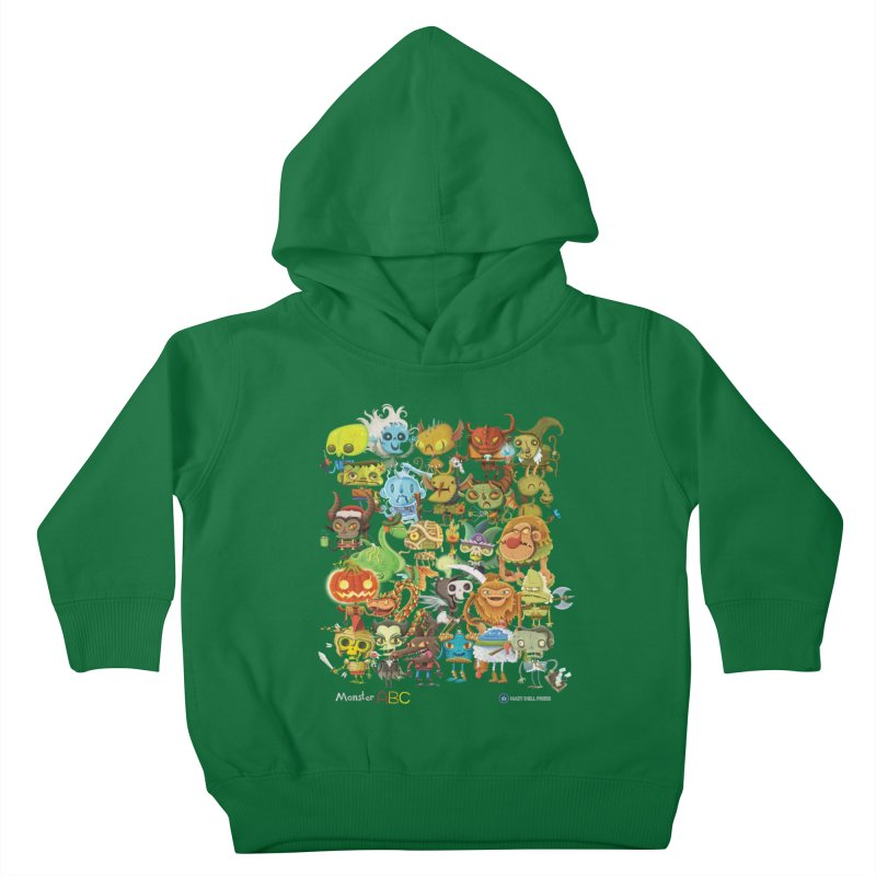 Monster ABC Kids Toddler Pullover Hoody by Hazy Dell Press