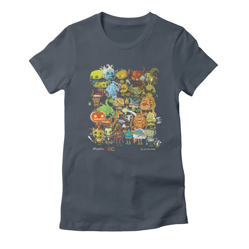 Monster ABC Women's T-Shirt by Hazy Dell Press