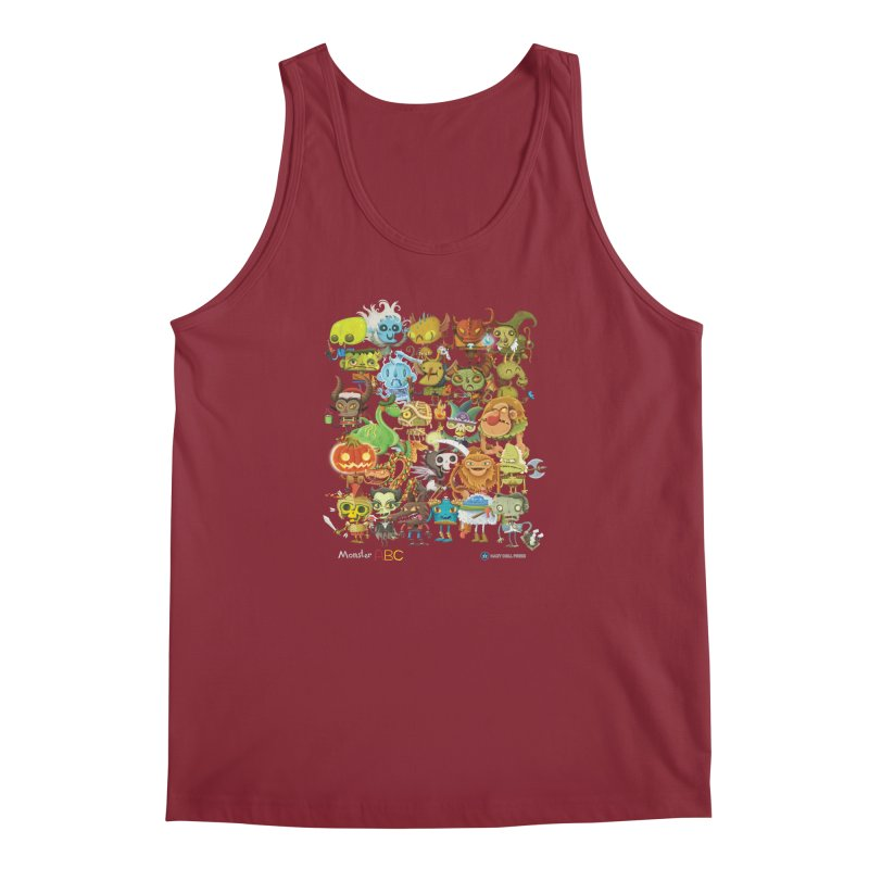 Monster ABC Men's Regular Tank by Hazy Dell Press