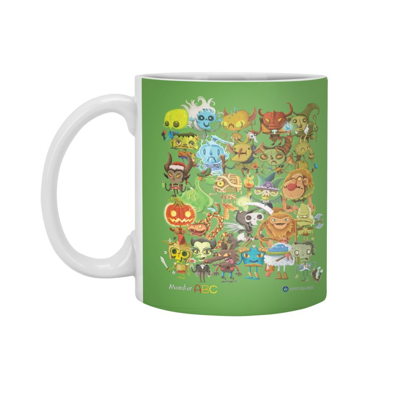 Monster ABC Accessories Standard Mug by Hazy Dell Press