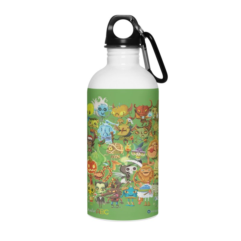 Monster ABC Accessories Water Bottle by Hazy Dell Press