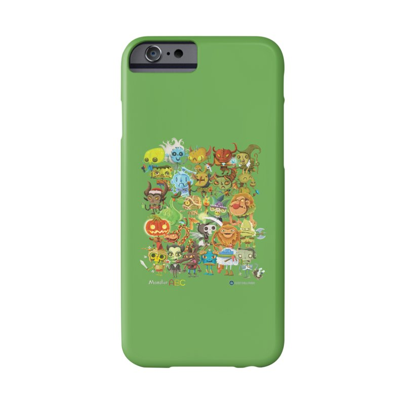 Monster ABC Accessories Phone Case by Hazy Dell Press