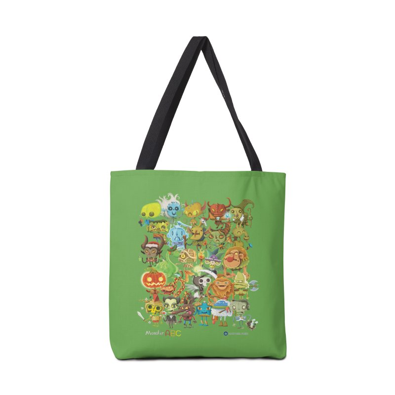 Monster ABC Accessories Bag by Hazy Dell Press