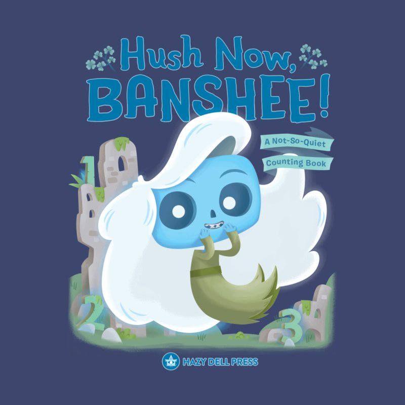 Hush Now, Banshee! Kids Longsleeve T-Shirt by Hazy Dell Press