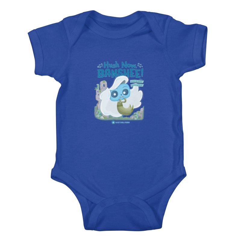 Hush Now, Banshee! Kids Baby Bodysuit by Hazy Dell Press