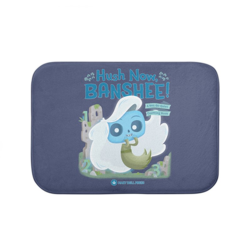 Hush Now, Banshee! Home Bath Mat by Hazy Dell Press