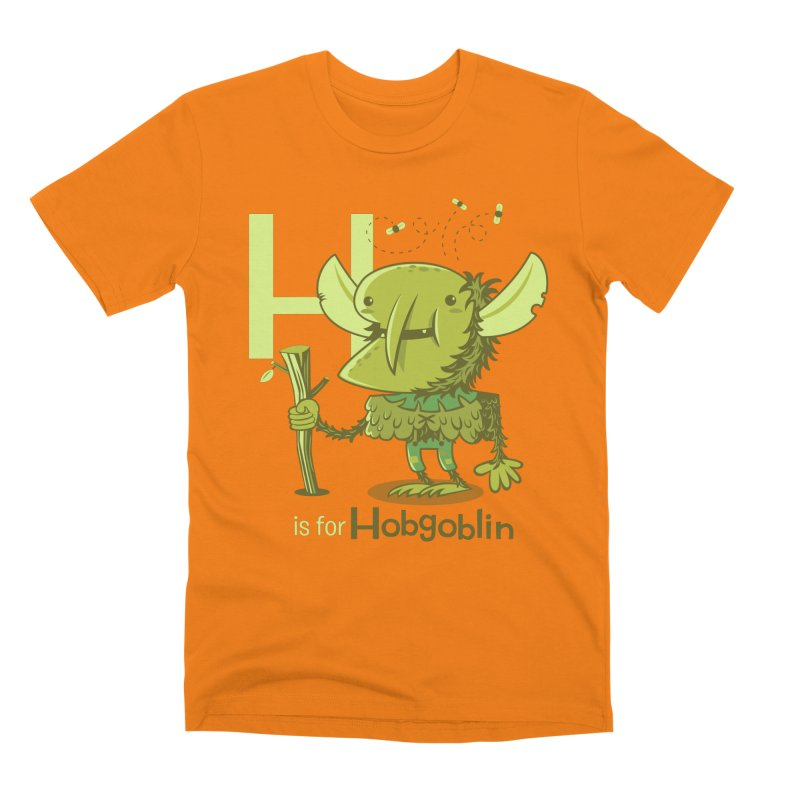H is for Hobgoblin — No Fart Men's T-Shirt by Hazy Dell Press