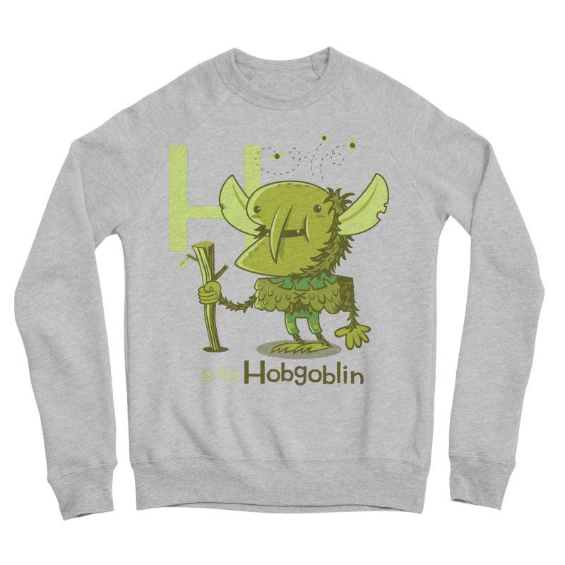 H is for Hobgoblin — No Fart Men's Sponge Fleece Sweatshirt by Hazy Dell Press