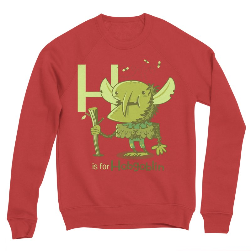 H is for Hobgoblin — No Fart Women's Sponge Fleece Sweatshirt by Hazy Dell Press