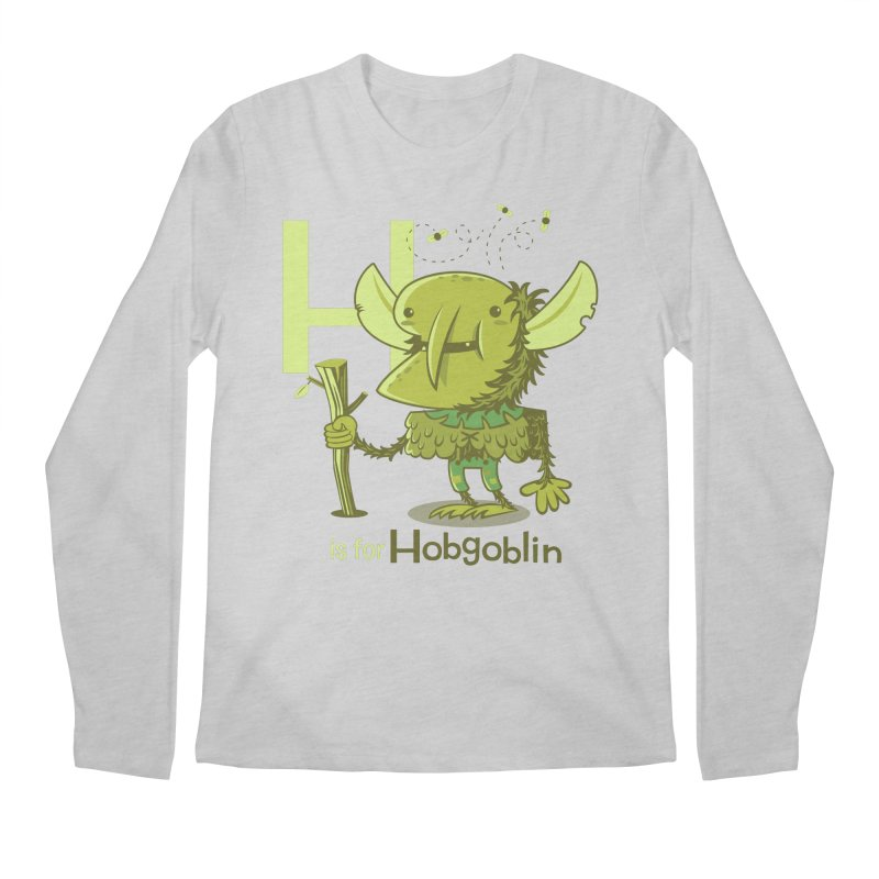 H is for Hobgoblin — No Fart Men's Regular Longsleeve T-Shirt by Hazy Dell Press