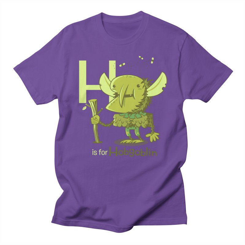 H is for Hobgoblin — No Fart Women's Regular Unisex T-Shirt by Hazy Dell Press