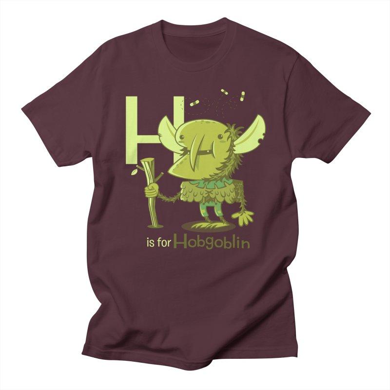H is for Hobgoblin — No Fart Men's Regular T-Shirt by Hazy Dell Press