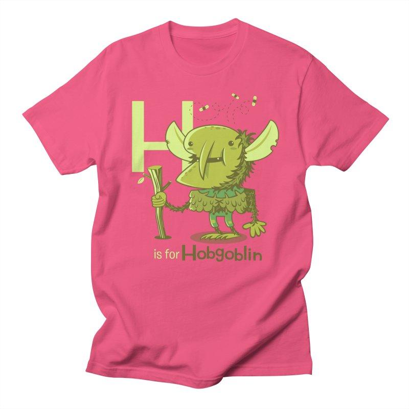 H is for Hobgoblin — No Fart Women's Regular Unisex T-Shirt by Hazy Dell Press