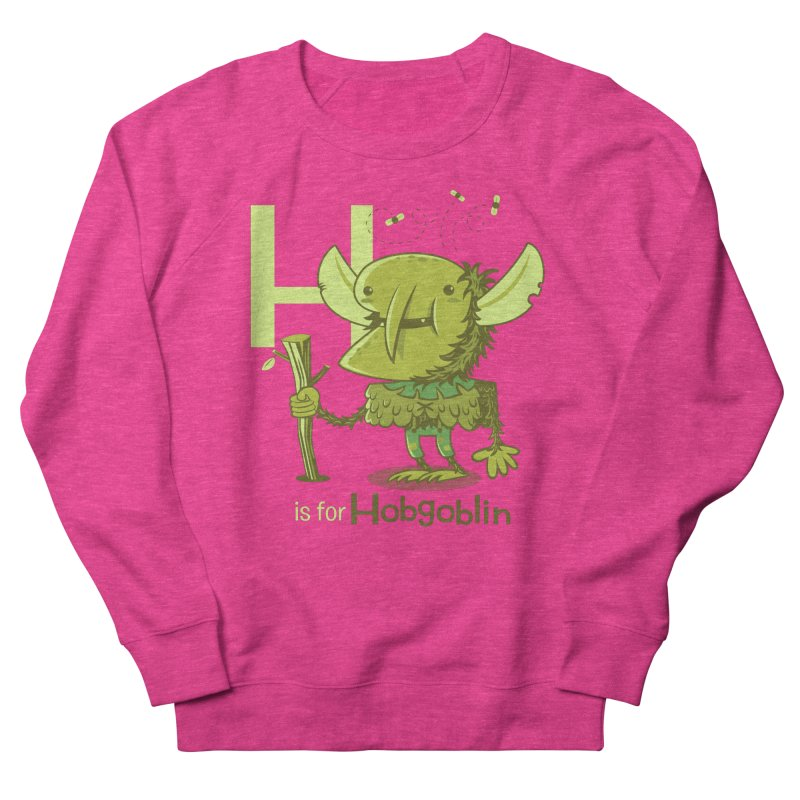 H is for Hobgoblin — No Fart Men's French Terry Sweatshirt by Hazy Dell Press