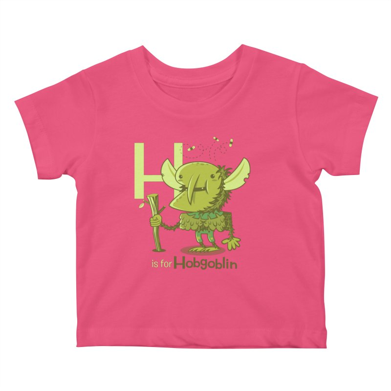 H is for Hobgoblin — No Fart Kids Baby T-Shirt by Hazy Dell Press