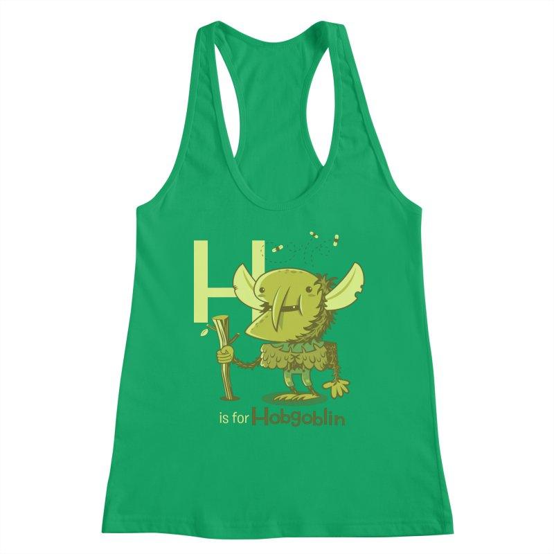 H is for Hobgoblin — No Fart Women's Tank by Hazy Dell Press