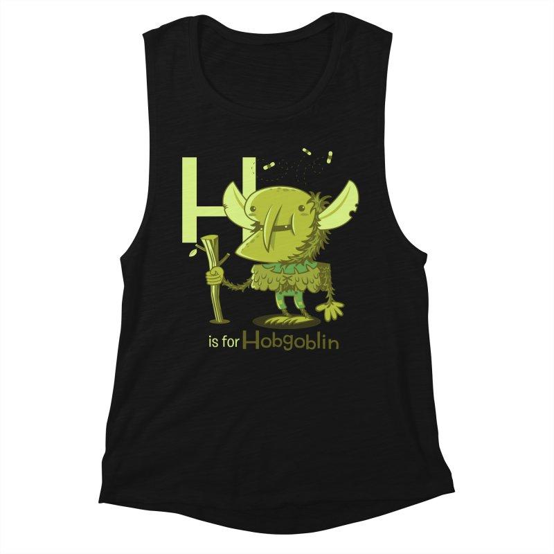H is for Hobgoblin — No Fart Women's Tank by Hazy Dell Press