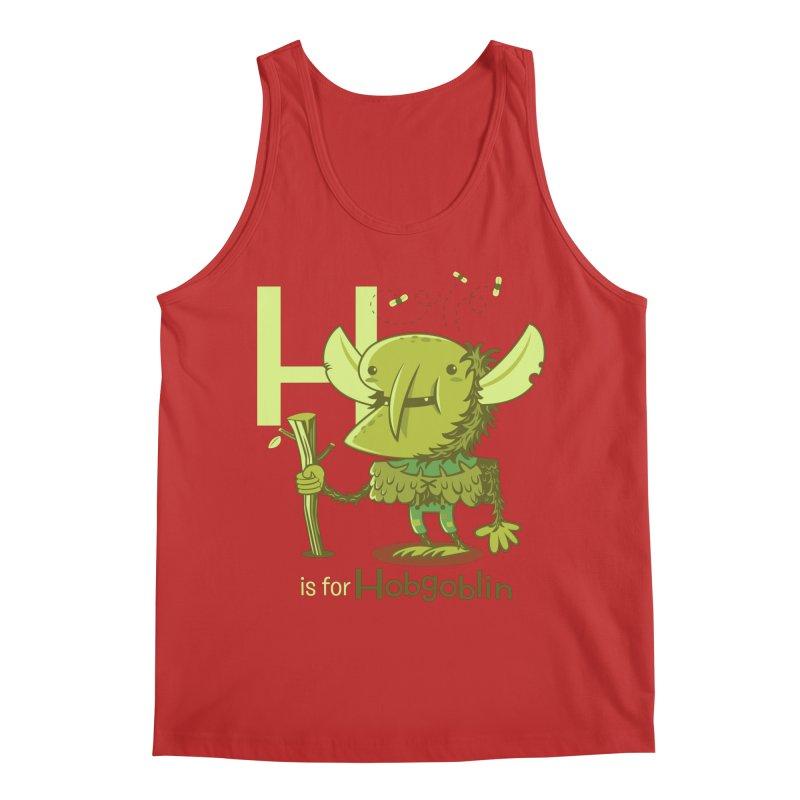 H is for Hobgoblin — No Fart Men's Regular Tank by Hazy Dell Press