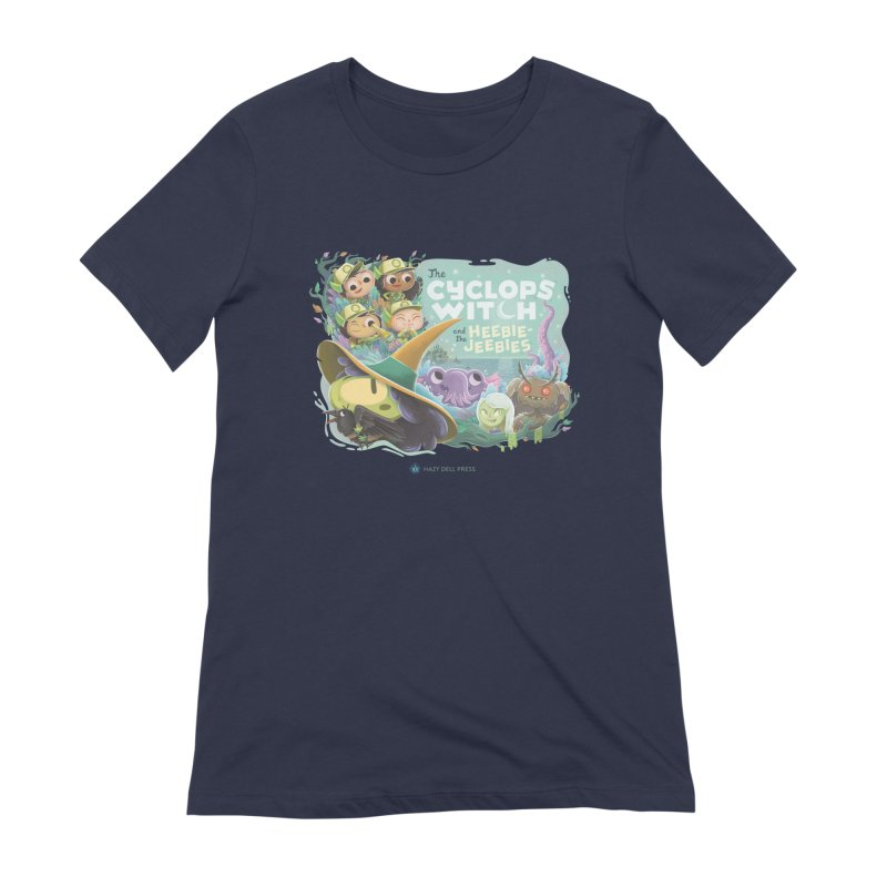 The Cyclops Witch and the Heebie-Jeebies Women's Extra Soft T-Shirt by Hazy Dell Press