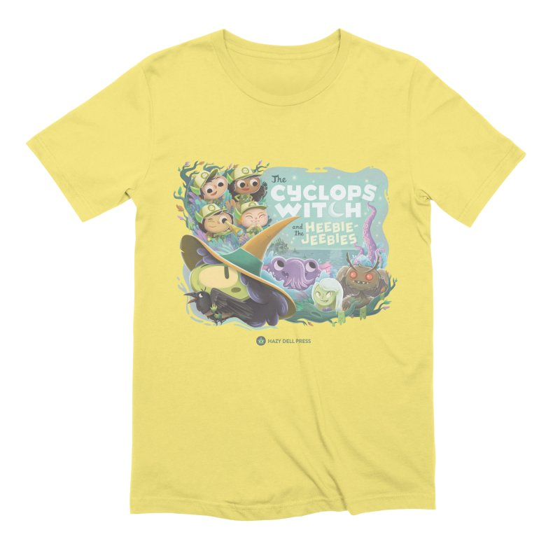 The Cyclops Witch and the Heebie-Jeebies Men's Extra Soft T-Shirt by Hazy Dell Press