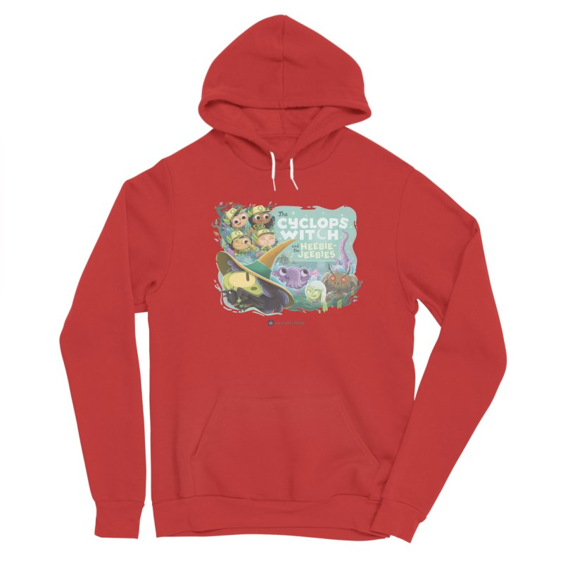 The Cyclops Witch and the Heebie-Jeebies Men's Pullover Hoody by Hazy Dell Press