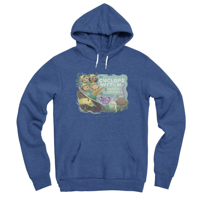 The Cyclops Witch and the Heebie-Jeebies Women's Sponge Fleece Pullover Hoody by Hazy Dell Press