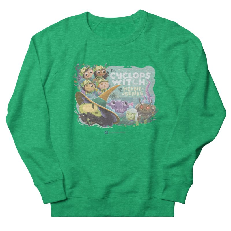 The Cyclops Witch and the Heebie-Jeebies Women's Sweatshirt by Hazy Dell Press