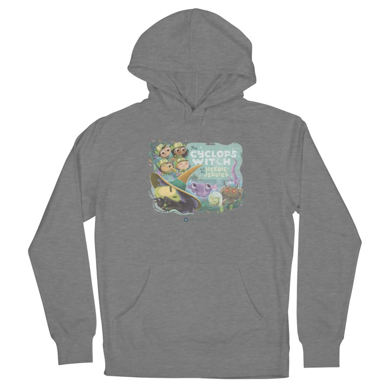 The Cyclops Witch and the Heebie-Jeebies Women's Pullover Hoody by Hazy Dell Press
