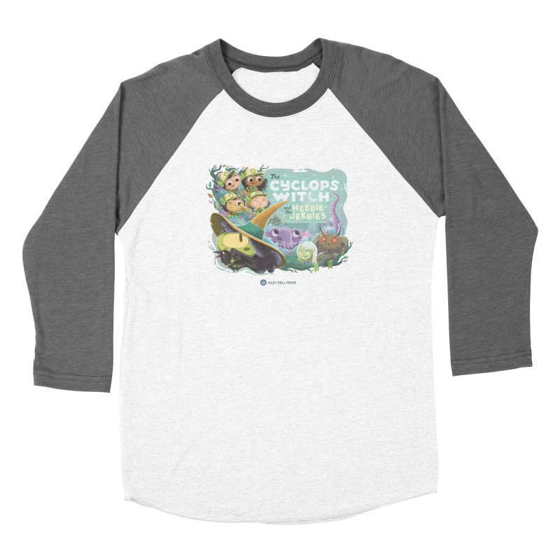 The Cyclops Witch and the Heebie-Jeebies Women's Longsleeve T-Shirt by Hazy Dell Press