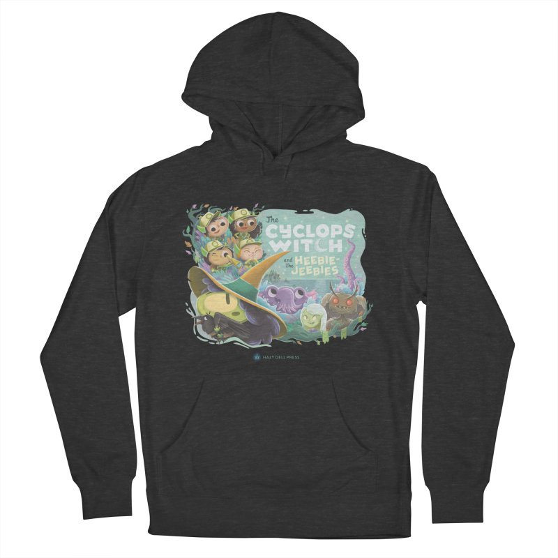 The Cyclops Witch and the Heebie-Jeebies Women's French Terry Pullover Hoody by Hazy Dell Press