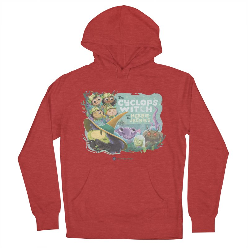 The Cyclops Witch and the Heebie-Jeebies Men's French Terry Pullover Hoody by Hazy Dell Press
