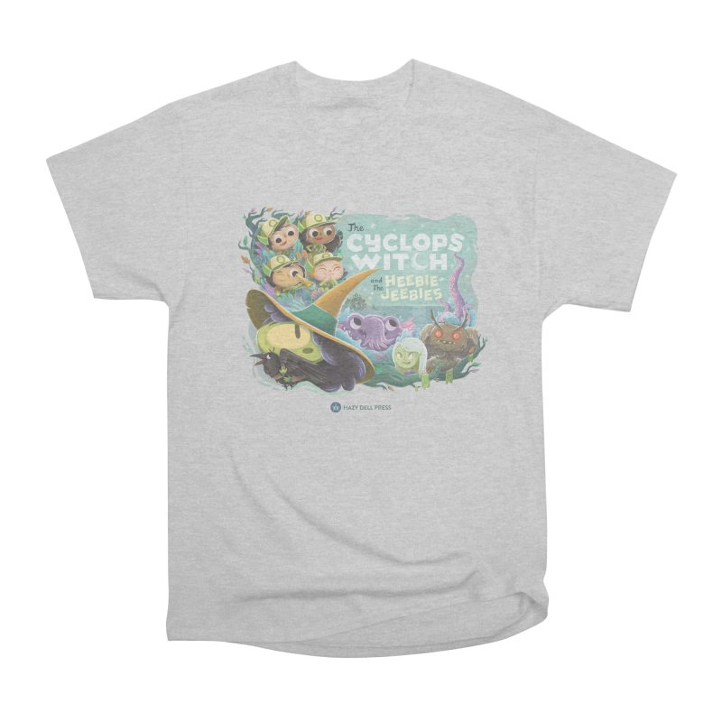 The Cyclops Witch and the Heebie-Jeebies Men's Heavyweight T-Shirt by Hazy Dell Press
