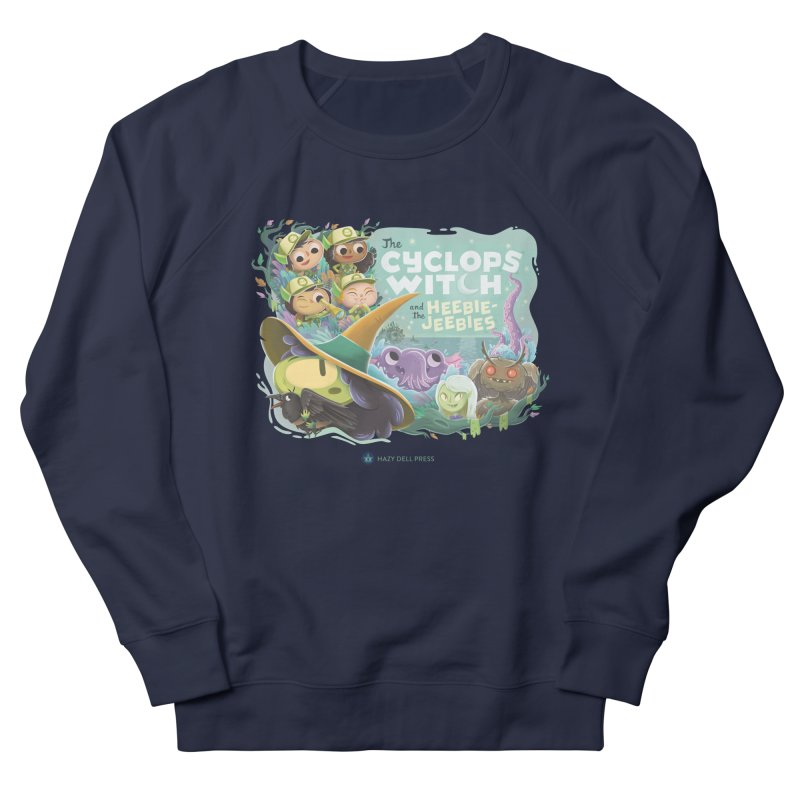 The Cyclops Witch and the Heebie-Jeebies Women's French Terry Sweatshirt by Hazy Dell Press