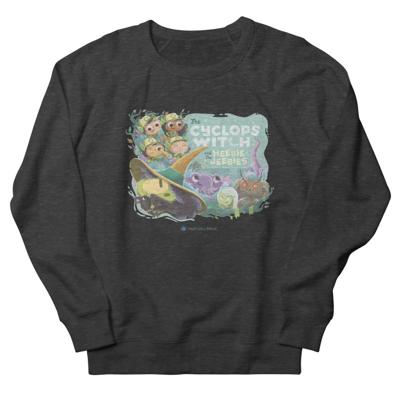 The Cyclops Witch and the Heebie-Jeebies Men's French Terry Sweatshirt by Hazy Dell Press