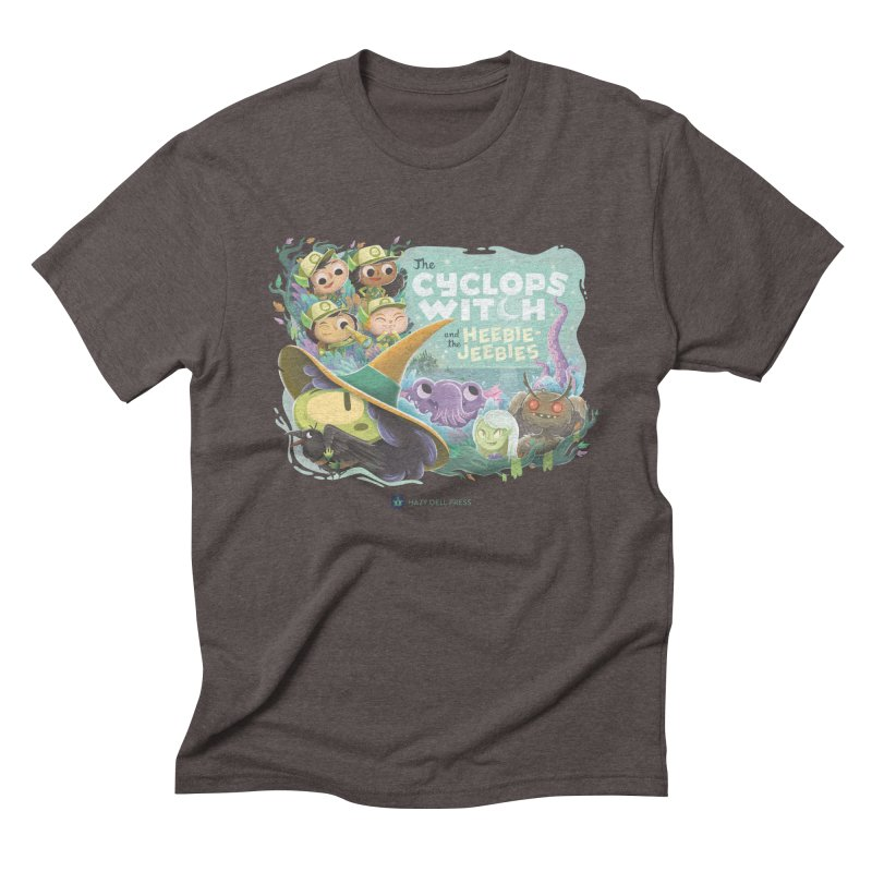 The Cyclops Witch and the Heebie-Jeebies Men's Triblend T-Shirt by Hazy Dell Press