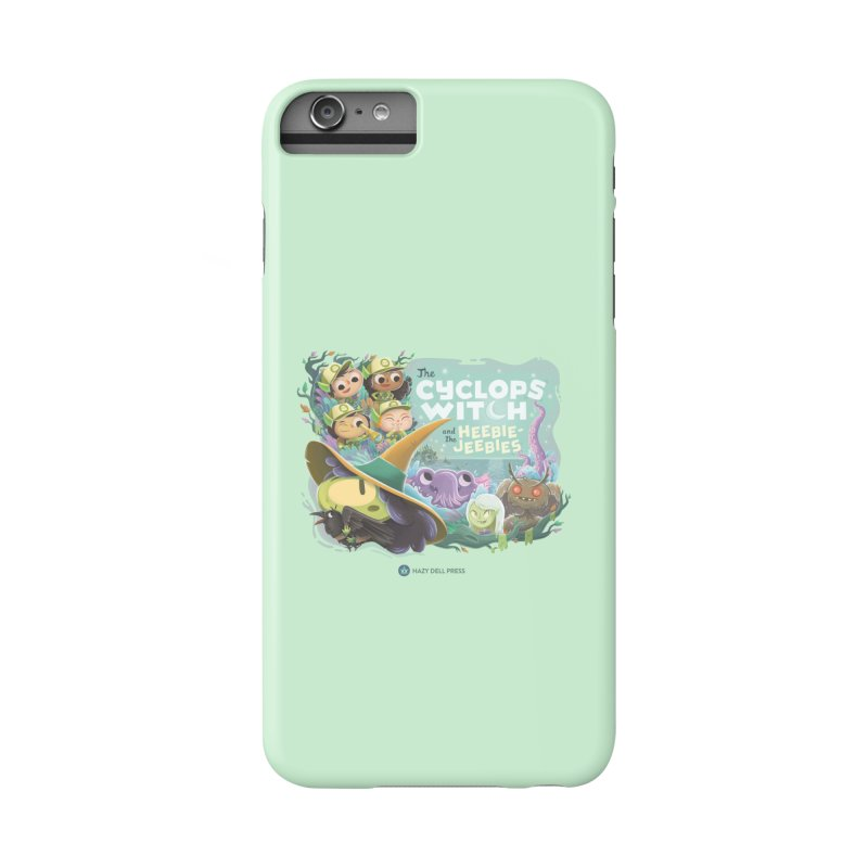 The Cyclops Witch and the Heebie-Jeebies Accessories Phone Case by Hazy Dell Press