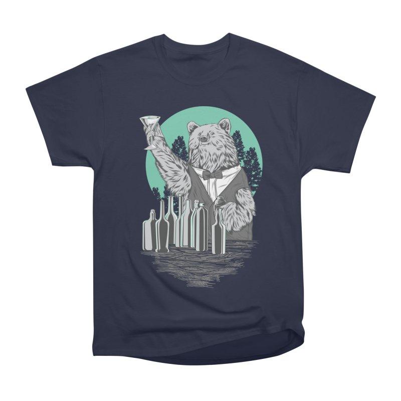 Beartender in green Men's Heavyweight T-Shirt by hd's Artist Shop
