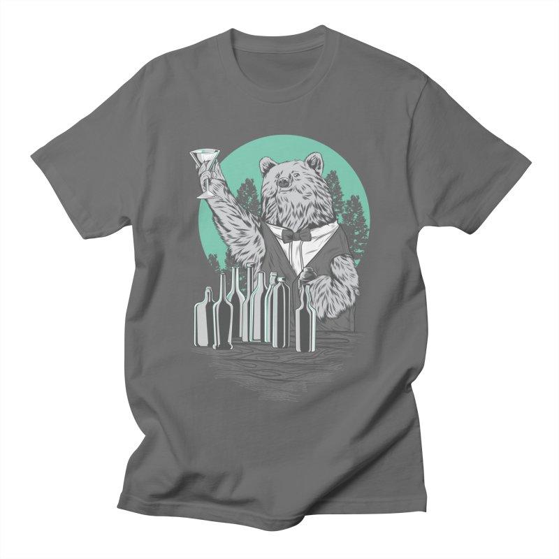 Beartender in green Men's T-Shirt by hd's Artist Shop