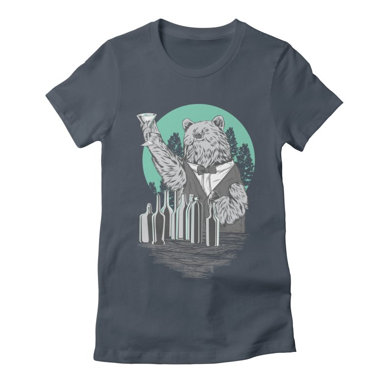 Beartender in green Women's T-Shirt by hd's Artist Shop