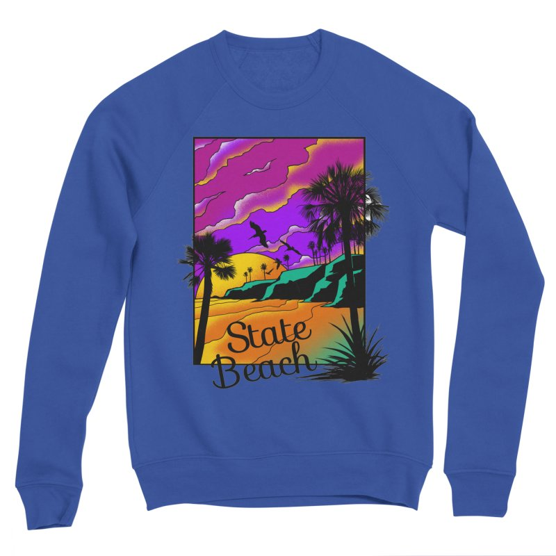 sunset and beach Women's Sweatshirt by hd's Artist Shop