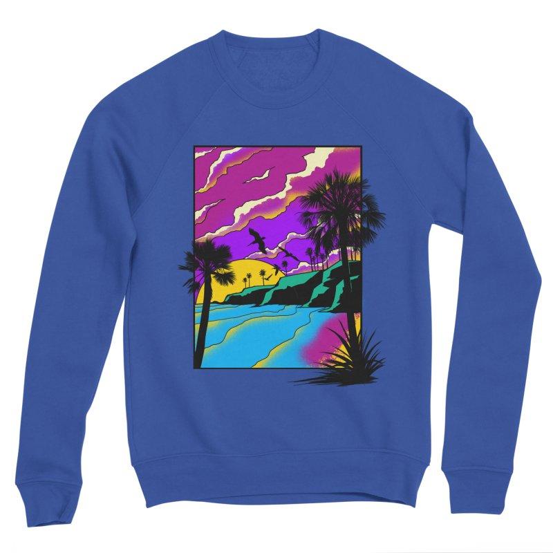 sunset and beach Women's Sweatshirt by hd's Artist Shop