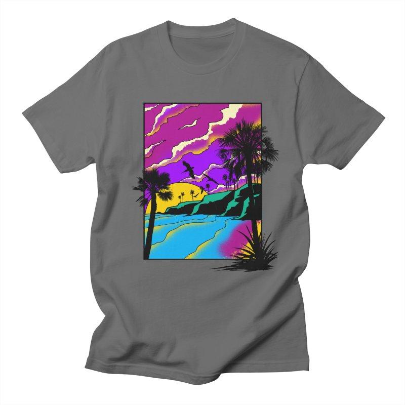 sunset and beach Women's T-Shirt by hd's Artist Shop