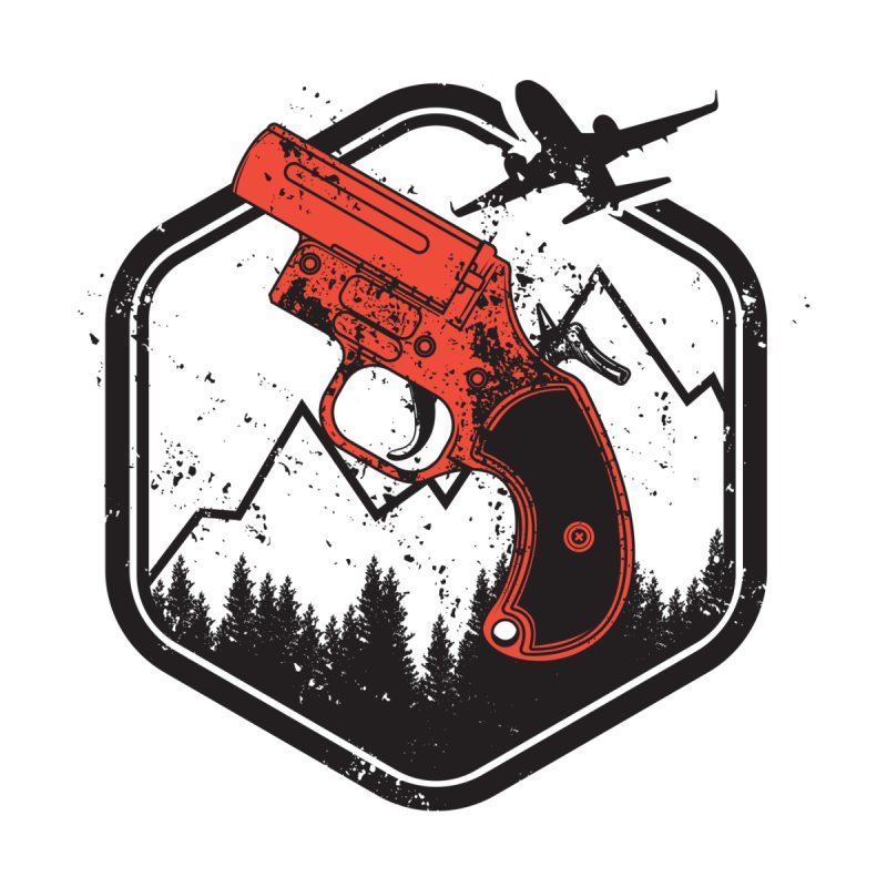 flare gun unknown Kids T-Shirt by hd's Artist Shop