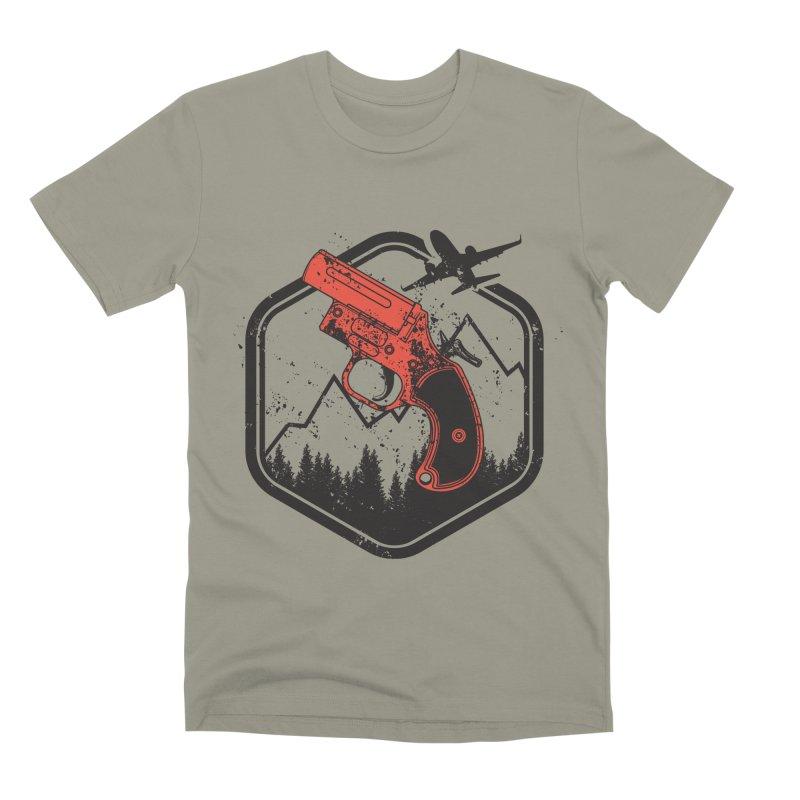 flare gun unknown Men's Premium T-Shirt by hd's Artist Shop