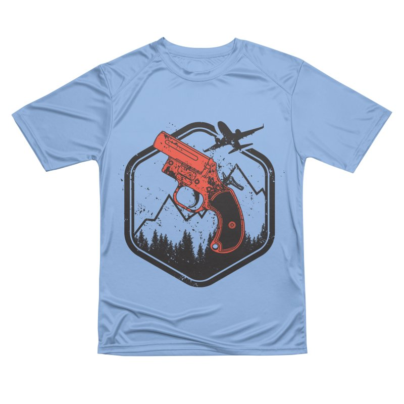 flare gun unknown Men's T-Shirt by hd's Artist Shop