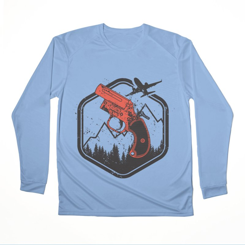 flare gun unknown Women's Longsleeve T-Shirt by hd's Artist Shop