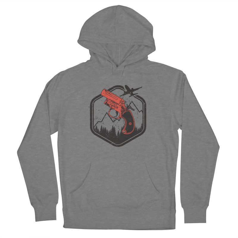 flare gun unknown Men's French Terry Pullover Hoody by hd's Artist Shop